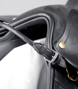 Details about  /NEW 100 PERCENT ENGLISH LEATHER  SADDLE HANDLE LEATHER WITH COMFORTABLE GRIP
