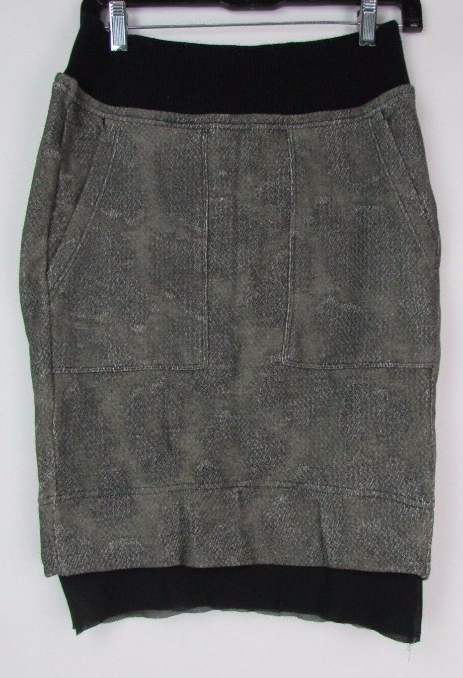 Diesel Women's O-Venus Military Green Skirt Size S 0BAEJ MSRP  158