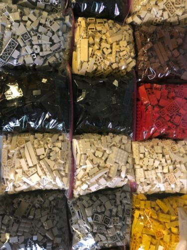 GREAT VALUE CHOICE OF COLOR /& QUANTITY LEGO 200 PIECES FROM BULK