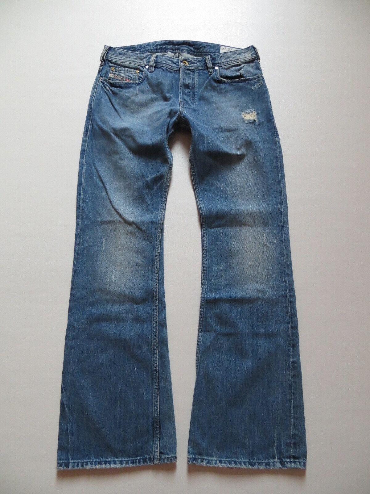 Diesel ZATHAN wash 008IK Bootcut Jeans Hose, W 31  L 32, Vintage Denim, KULT
