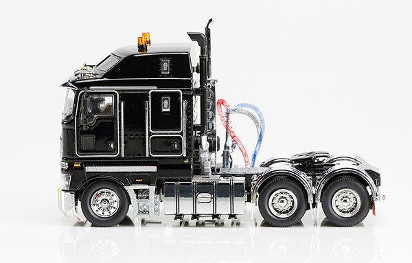 Drake Z01374 Tractor Kenworth K200 cabina promotor-Negro - 1/50 Die-cast En Caja Como Nuevo