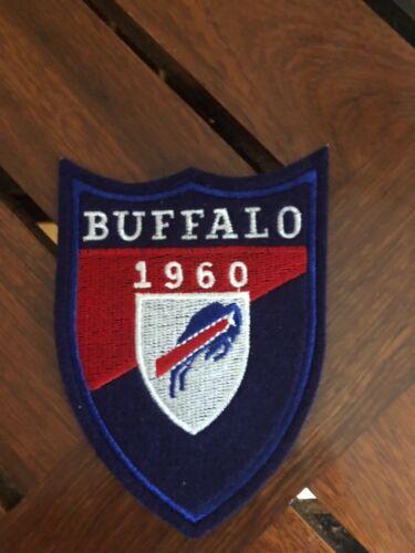 "VINTAGE BUFFALO BILLS SEW ON PATCH 2 7//8"" X 4"""