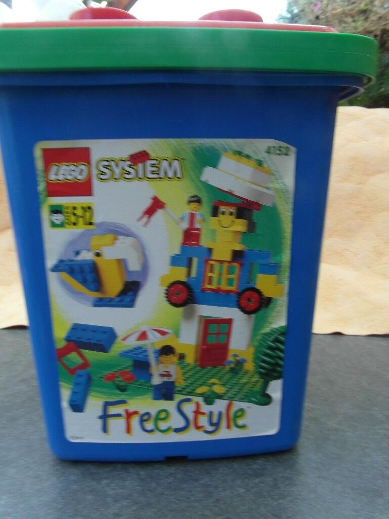 Lego 4152 free style en eimmer non ouvert neuf dans sa boîte nouveau nouveau nouveau