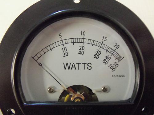 Bird 43 Thruline 30Ua Replacement Wattmeter Element Slug Reading Meter Face