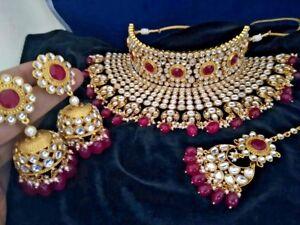 Kundan Bridal Choker Necklace Set