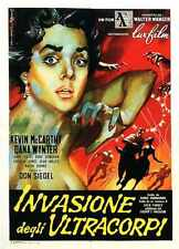 Invasion Of Body Snatchers 1956 Poster 06 A2 Box Canvas Print
