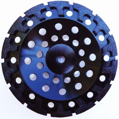 "3PK-7/"" NEW PRO.DIAMOND CUP WHEEL POWERFUL T-SEG HARD CONCRETE STONE BLOCK-BEST"