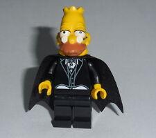 "THE SIMPSONS Lego Grandpa- ""Dracula/Vampire"" Custom NEW (Genuine Lego parts)"