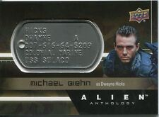 2016 Alien Anthology Upper Deck Space Marine Dog Tag Relic You Pick the Card