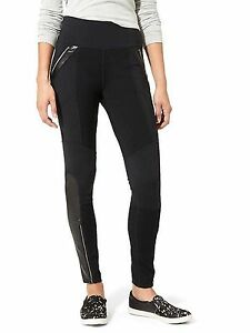 5aca9dfa3d59e Athleta Ponte Luxe Legging Black #349413 NEW $98 SP Small Petite | eBay