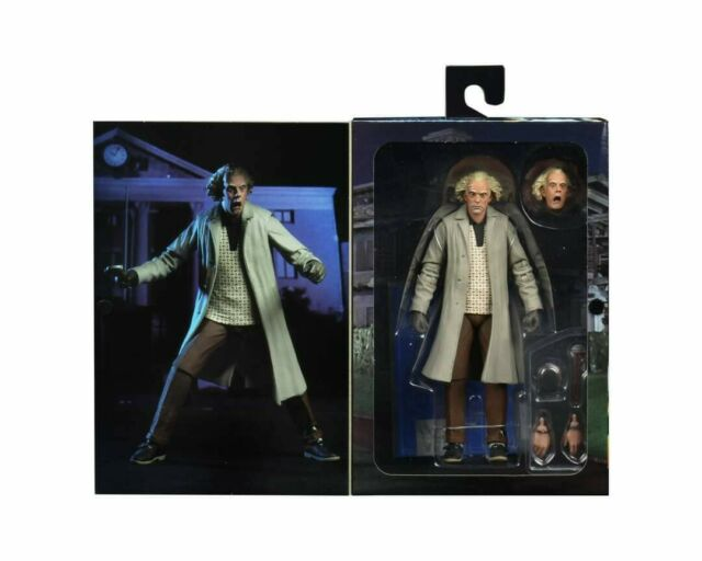 """Neca Back to the Future Ultimate Doc Brown - 7"""" scale action figure - in stock"""