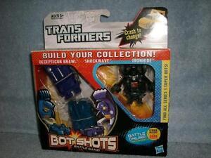 Brawl-Shockwave-Ironhide-Transformers-Bot-Shots-Game-Hasbro-2013-3-Pack-Series-1