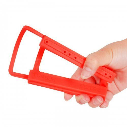 """2.5/"""" to 3.5/"""" SSD to HDD Screw-less Mounting Adapter Bracket Hard Drive Holder UK"""