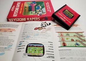 KEYSTONE-KAPERS-Atari-2600-Video-Game-Complete-Catridge-Manual-Box
