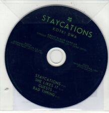(DD216) Kotki Dwa, Staycations - 2012 DJ CD