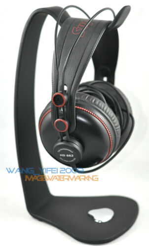 Silver Reflection Black PVC Headphones Stand For HD555 HD595 HD518 HD558 Headset