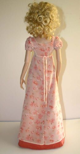 """Regency Doll Clothes Sewing  Pattern for 22/"""" American Model Dolls Tonner"""