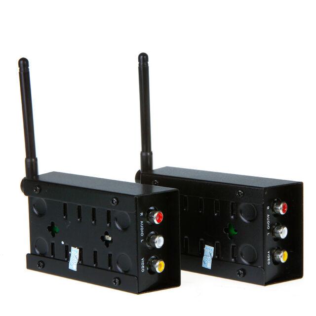 2.4GHz 2.4G Wireless Audio Video Transmitter Receiver sender 4 Channels A/V