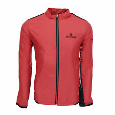 adidas Men's Redwood Empire Climaproof Stretch Wind Jacket Power Red/Black L