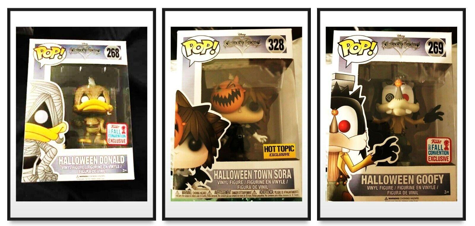 Funko Pop  Reino Corazones Halloween Lote - 3 Pops