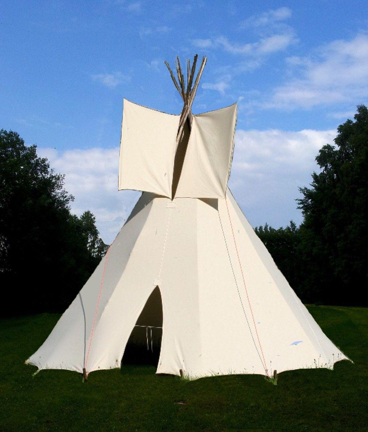 Ø 3m enfants tipi wigwam Tente pour enfant, indien de jeu PISCINE TOBOGGAN