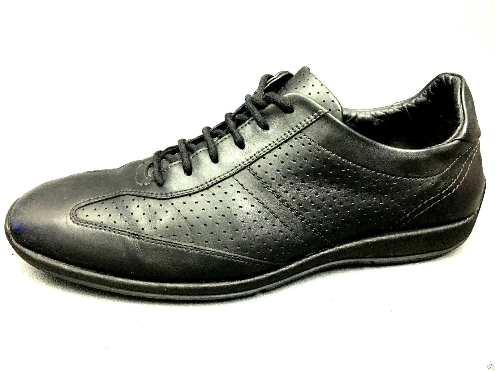 HUGO BOSS-Mens-Casual Leather-Sneakers-Trainers shoes Size 41 Eur. Usa. 8