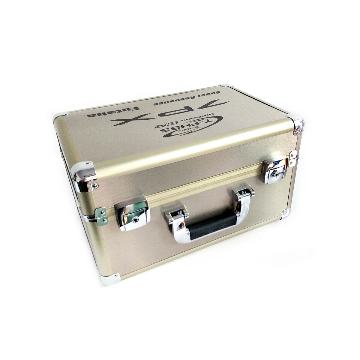 Portable Llevar Caja De Aluminio Para Futaba 7PX, anti daños y contra la oxidación