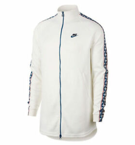 cliente primero hermoso estilo última tecnología Detalles de Nike Ropa Deportiva Reforzado Chaqueta de Chándal Talla G  Grande Sail Blanco