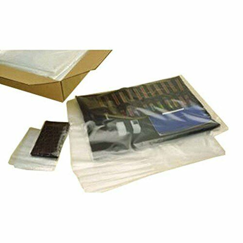 6 X 14 2 Mil Flat Poly Bags 1,000 Bags Laddawn 446