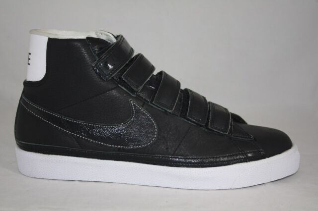 pretty nice 62f4a 9f8bc MENS NIKE BLAZER HIGH 386162-002 BLACK/BLACK-WOLF GREY-WHT SIZE10.5-13  WAS$100