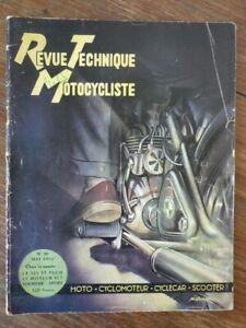 Magazine REVUE TECHNIQUE MOTOCYCLISTE Nr 50 (Mai 1952)   Puch 125 TT