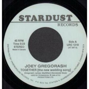 JOEY-GREGORASH-HAGOOD-HARDY-Together-Homecoming-7-034-VINYL-Canada-Stardust