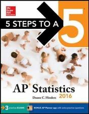 5 Steps to a 5 AP Statistics 2016 (5 Steps to a 5 on the Advanced Placement Exa