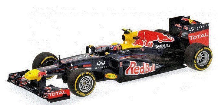 Tienda 2018 Formula 1 1 1 rojo Bull Racing Renault RB8 M. Webber 2012 - 1 18 - Minichamps  Entrega rápida y envío gratis en todos los pedidos.