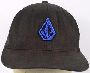 c5b45e7babf4 Image is loading Volcom-Clothing-Accessories-Company-Logo-Baseball-Hat-Cap-
