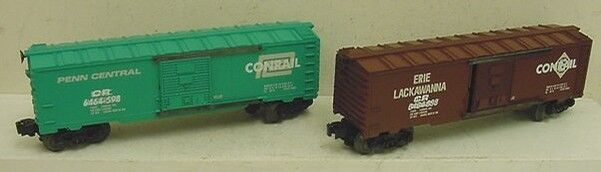 Lionel 6-21756 Conrail Overstamped Box Car Set 6464 TWO CAR SET new in box