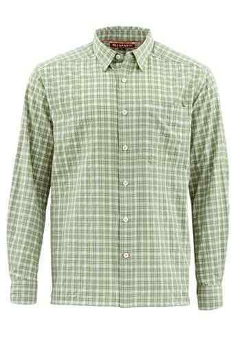 Simms Morada Long Sleeve Shirt-Dune Plaid -  Size Medium - Closeout  discount sales