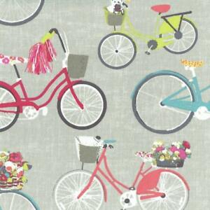 Textiles-francais-Ride-My-Bicycle-fabric-100-Cotton-160-cm-wide