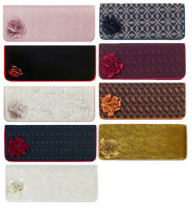 9fc317f34f08d NEW Ruby Shoo London Clutch Bag Cream Gold / Pink / Black Red / Navy ...