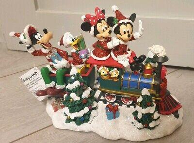 Christmas Chip /& Dale EXCLUSIVE  Disneyland Paris FIGURINE NOEL TIC et TAC