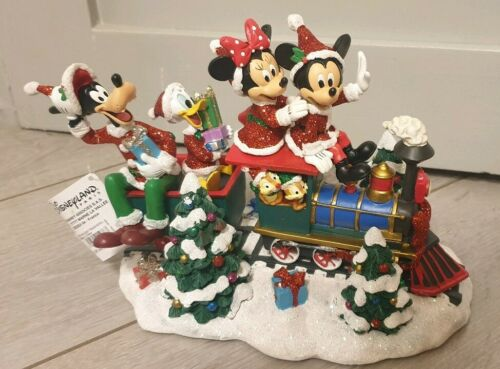 FIGURINE HOLIDAY Vacances TRAIN NOEL Disneyland Paris