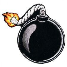 "Ball Bomb Patch 3x3"" 7,5 x 7,5 cm Video Game Nintendo Funny Biker Patch Iron On"