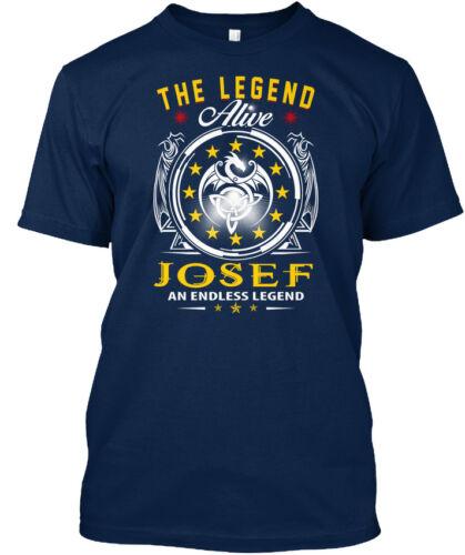 Josef The Legend Alive An Endless Standard Unisex T-shirt