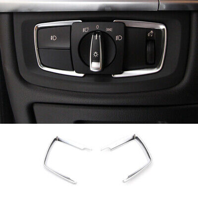 ABS chrome Rear Trunk Switch Button Cover trim For BMW X5 F15 X6 F16 2015-2018