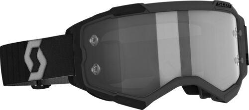 Scott Fury MX Offroad Goggles Black//Gray w//Light Sensitive Gray Lens