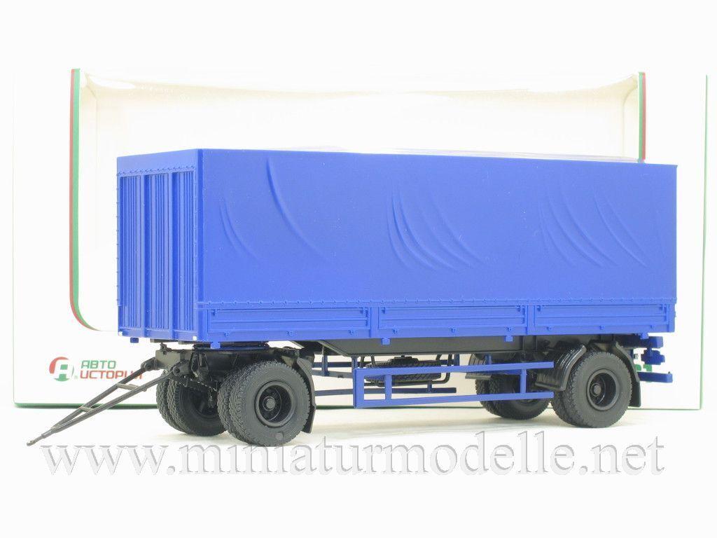1 43 MAZ 83781 Planen Planen Planen Anhanger Russische DDR Russian trailer ZIL KAMAZ UdSSR TIR 0538bd