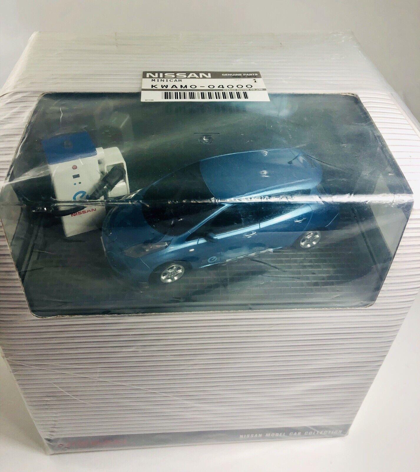 Kyosho 1 32 Mini-Z Lit RC Nissan  Leaf Brilliant Aqua blu   Japan KWAMO-04000  risparmia il 50% -75% di sconto