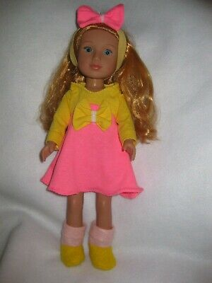 #401 that fit Wellie Wisher Wishers Dolls Light Yellow Dress Shoes