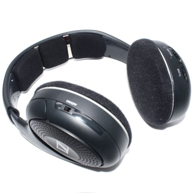 a011cb57674 SENNHEISER RS 120 II Wireless Digital RF Hi-Fi TV Headphones 6044155071832  Used