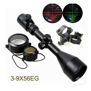 Tactical-3-9x56EG-Red-Green-Mil-Dot-Air-Rifle-Gun-Optics-Hunting-Scope-Sight-HOT